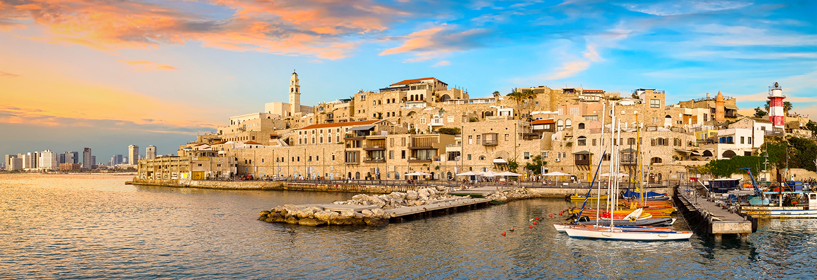 This is a stock photo. Jaffa Port in Tel Aviv, Israel.